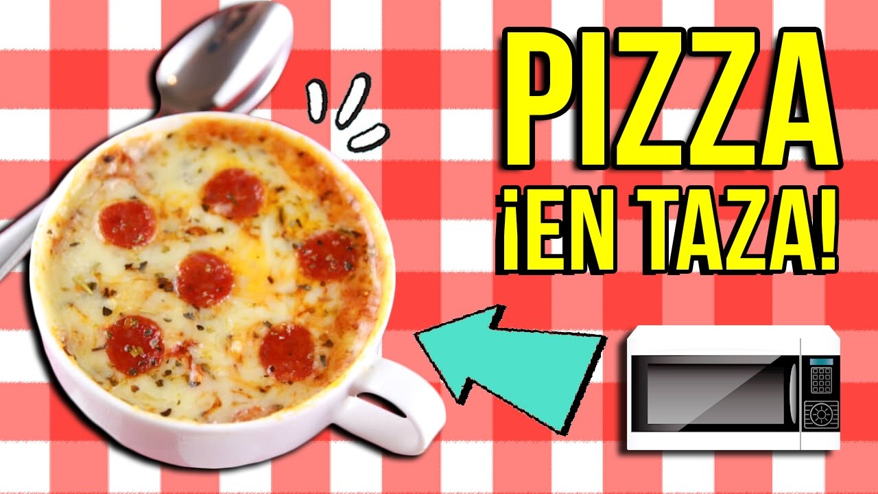 Worksheet.  PIZZA EN UNA TAZA    TRUCO para Hacer Pizza En 2