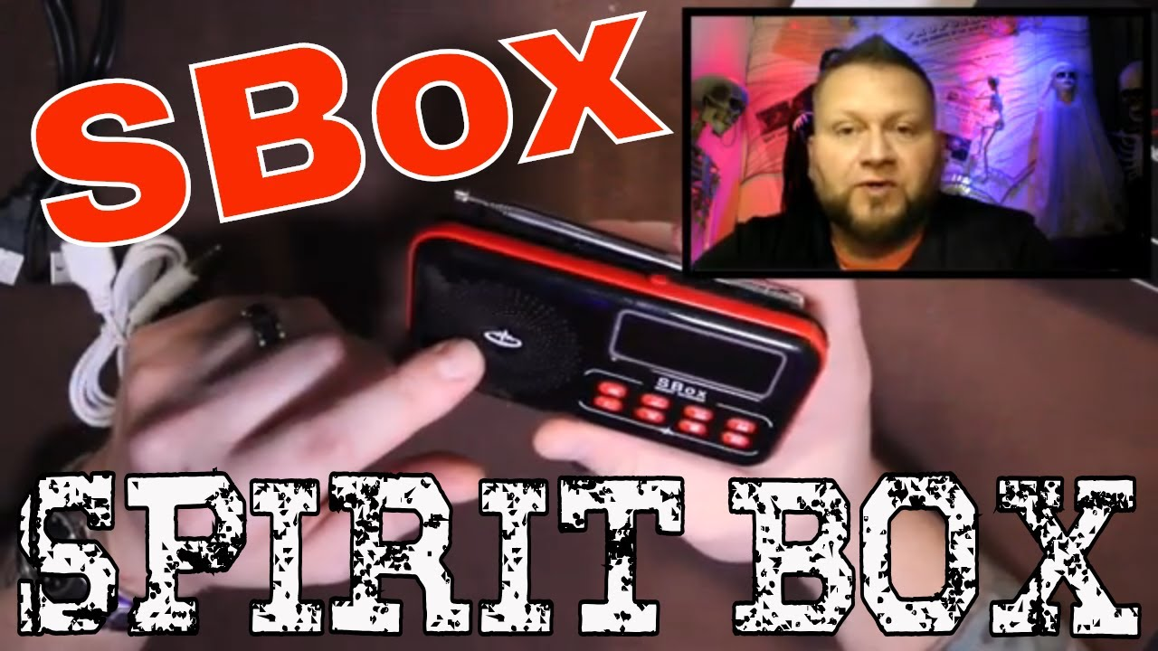 Unboxing SBox from GhostStop Ghost Scanner Spirit Box Review by: PSPR Paranormal Pursuit