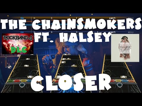 The Chainsmokers ft. Halsey - Closer - Rock Band 4 DLC Expert Full Band (October 27th, 2016)