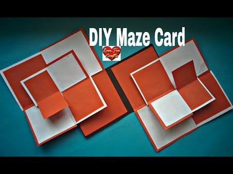 Double Maze Card Tutorial | DIY - Wedding Anniversary Gift Idea
