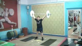 Бикмулин Илья, 11 лет св 70 Рывок 23 кг