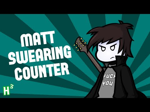 Mattophobia Swearing Counter - (Nerd³'s 2.5M Subscriber Special)