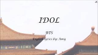 IDOL - English KARAOKE - BTS