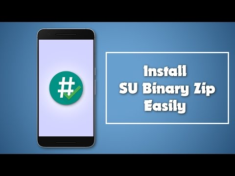 Install SU binary in your any Android device