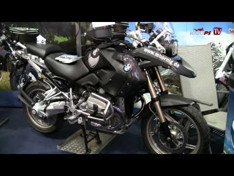 Hornig BMW Zubehör News 2013 - Intermot 2012