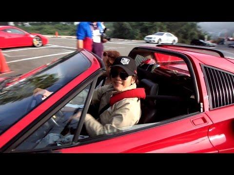 ベッキオバンビーノ 長谷直美 さん 【Ferrari 328 GTS】