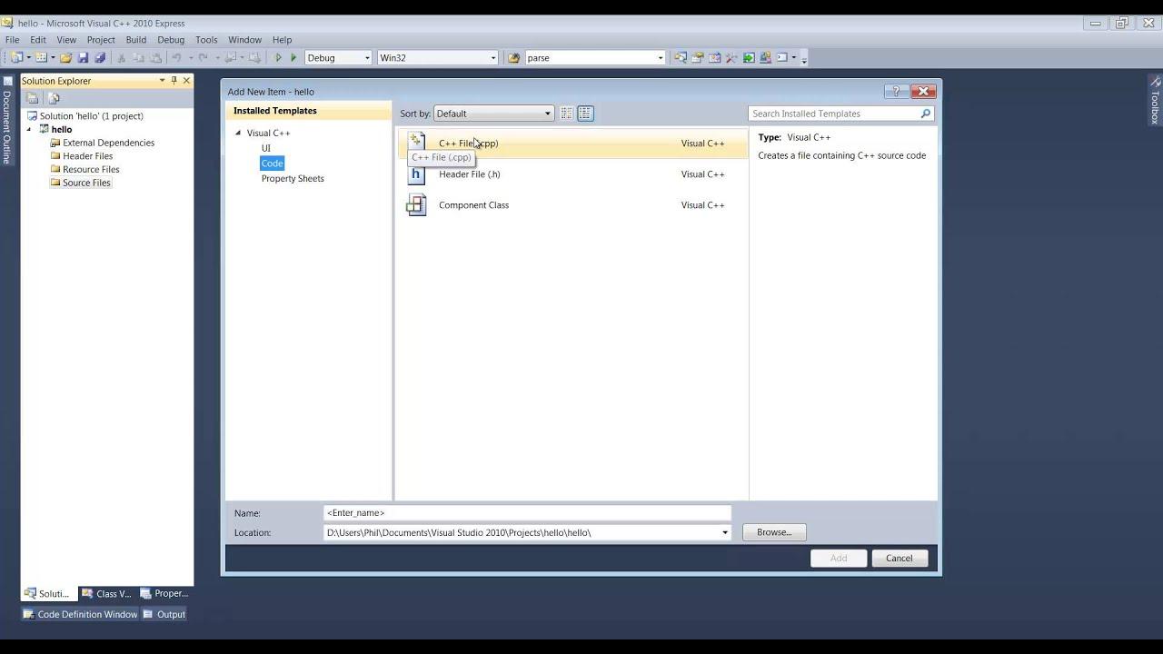 Visual C++ Documentation