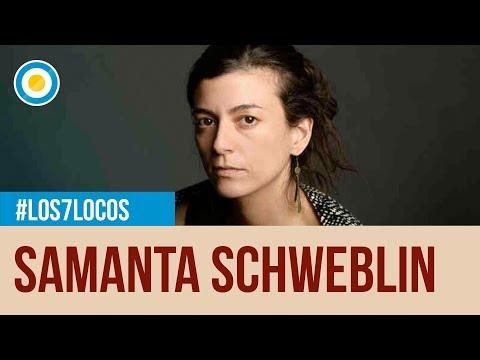 Los 7 locos - Entrevista a Samanta Schweblin - 20-12-14 (2 de 4)
