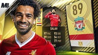 FIFA 18 SIF SALAH REVIEW | 89 SIF SALAH PLAYER REVIEW | FIFA 18 ULTIMATE TEAM