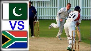 Cricket match pakistan VS South africa