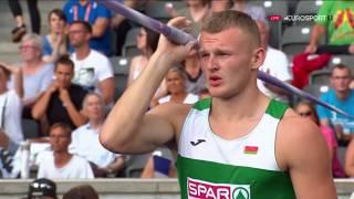 Виталий Жук - бронзовый призер чемпиона Европы в десятиборье