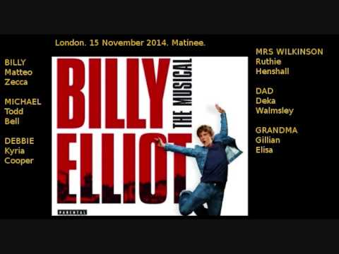 9 Merry Christmas Maggie Thatcher, Billy Elliot London 2014 - YouTube