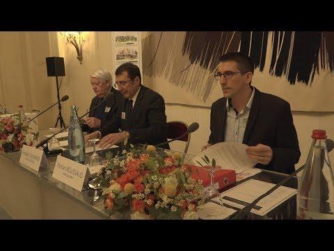 Floralies 2019 : conférence de presse au Palais du Luxembourg