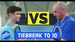 E4 Felix vs Chris |Veteran Tennis Player |Tiebreak to 10