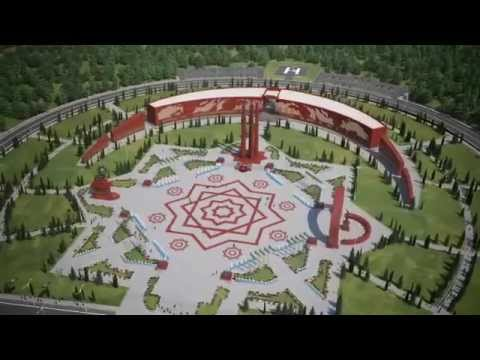 Memorial Park project in Ashgabat