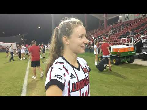 WSOC: Emina Ekic Vs Eastern Michigan Postgame Interview