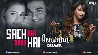 Sach Keh Raha Hai Deewana | DJ Smita | Club Mix | Harsh GFX Visual | Rehnaa Hai Terre Dil Mein