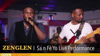 ZENGLEN - SA'N FÈ YO LIVE PERFORMANCE @ TQLA Lounge [ 7-6-18 ]