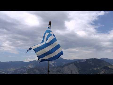 greek flag, monastiri