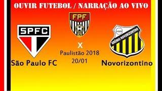Baixar São Paulo 0 x 0 Novorizontino - Ao VIVO - Paulistão 2018