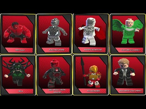LEGO Marvel Super Heroes 2 - All Secret Boss Fights in Chronopolis (Who's the Boss Challenge)