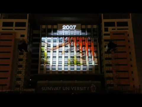 Sunway 3D Laser Light Show 25/7/17