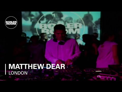 Matthew Dear 40 min Boiler Room DJ Set