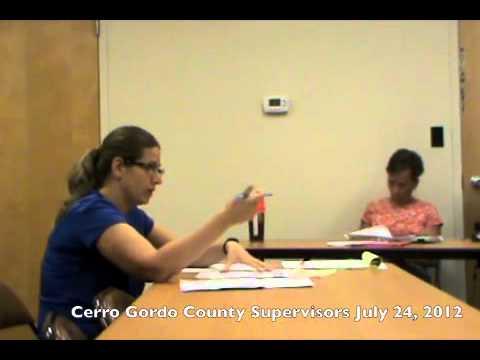 CG Supervisors, July 24, 2012
