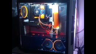Como fazer Mod em watercooler Selado (corsair, Thermaltake, Antec) How to mod self cointained