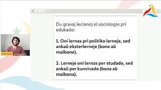 VK 2020: De sociaj sciencoj al demokratia edukado: vojo malsimpla sed nepra (Raoni Sousa, Brazilo)