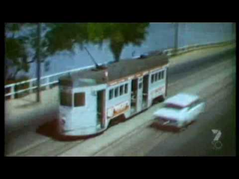 Mini Flashback  (1969)  Brisbane's Trams are scrapped