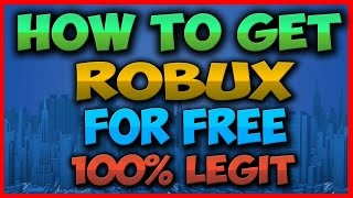ROBLOX | HOW TO GET FREE ROBUX ON ROBLOX!! (November 2016)