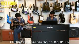 Chơi vơi tôi ru tôi Cover - Piano & Acoustic Guitar