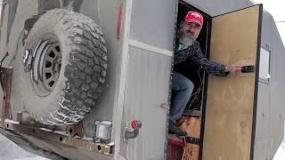 16 Пластиковая дверь и дверной замок для каравана (прицепа). Прицеп дом на колесах своими руками