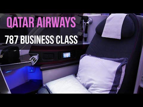 QATAR AIRWAYS BUSINESS CLASS 787 Dreamliner London to Doha