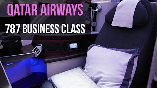 QATAR AIRWAYS BUSINESS CLASS REVIEW: 787 Dreamliner London to Doha