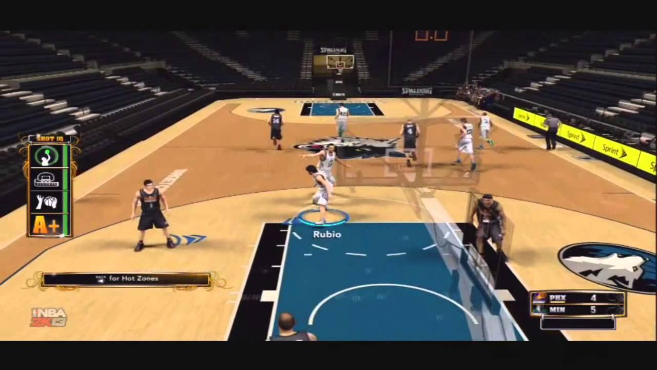 NBA 2K13 Tips- Kevin Love- Blue Fade Trey