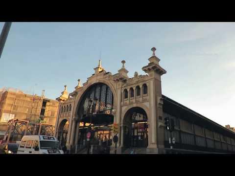 Zaragoza Central  Market Cesar-Augusto-Street-Saragossa in Spain 1