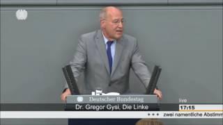Gregor Gysi zum Abzug der Bundeswehr aus Incirlik, Türkei