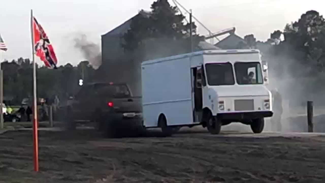 F250 6.0 Power Stroke Diesel vs 4BT Cummins Bread Truck ...