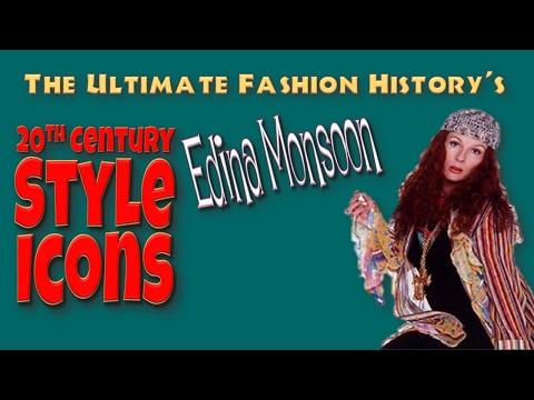 20th CENTURY STYLE ICONS: Edina Monsoon