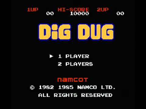 Dig Dug (NES) Music - Stage Theme