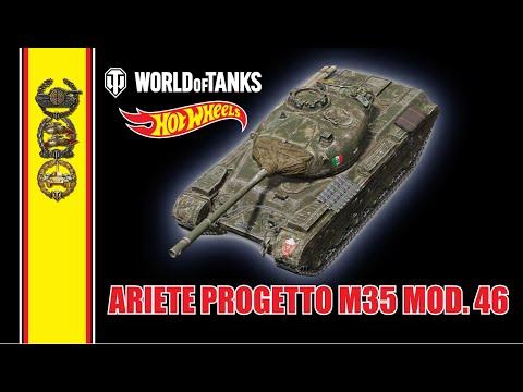 Ariete Progetto M35 Mod. 46 - World Of Tanks: Hot Wheels™ - FullHD - PS4/XBOX