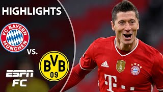 Robert Lewandowski, Erling Haaland put on a show in Der Klassiker   ESPN FC Bundesliga Highlights