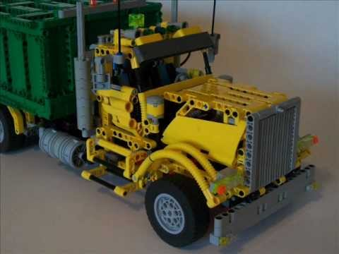 Lego Technic Moc Garbage Truck By Lucaslegorio Chile Youtube