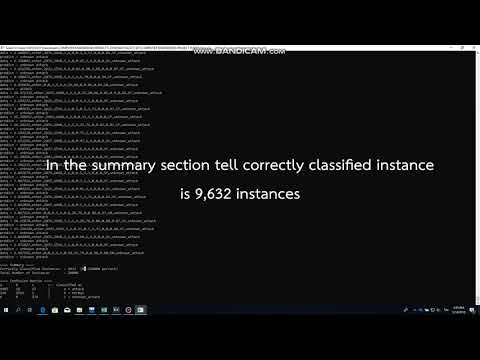Application of Machine Learning Techniques for Network Intrusion Detection System - DEMO
