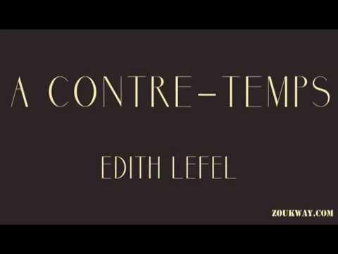 Edith LEFEL A contre temps