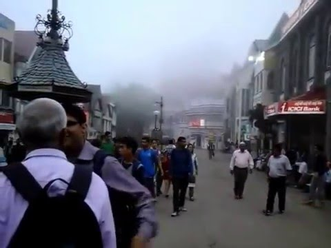 Mall road with friends, Shimla, India
