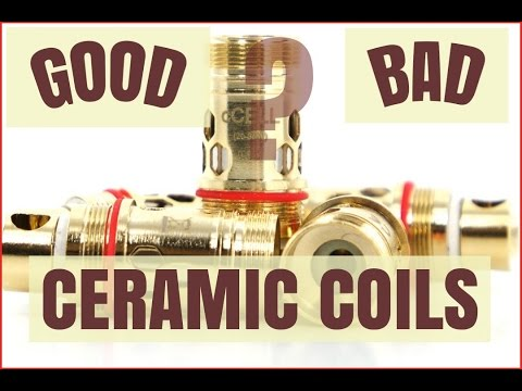 Ceramic Coils (CCell) Good or Bad? My Opinion