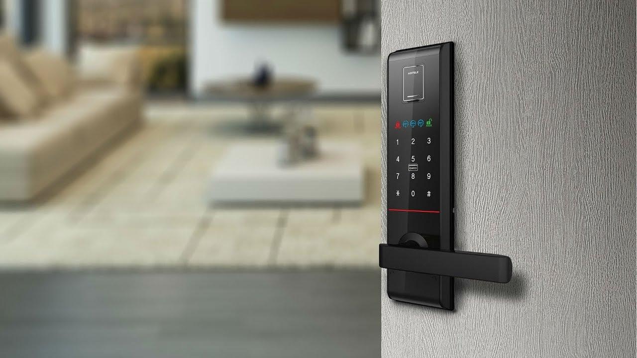 อุปกรณ์ล็อคประตูอิเล็กทรอนิกส์ EL9000 - เฮเฟเล่